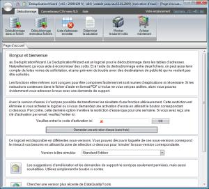 Click to view DeduplicationWizard 4.1 screenshot