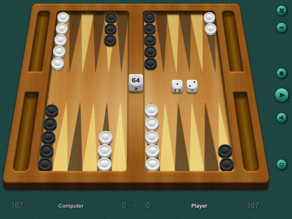 Click to view Backgammon Classic 7.2 screenshot