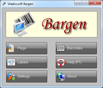Click to view Vladovsoft Bargen 6.0.2 screenshot