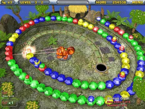 Click to view Chameleon Gems Free game download 1.0.2 screenshot