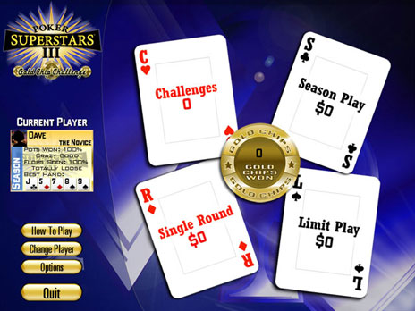 Click to view Poker Superstars III Free game download 1.0.2 screenshot
