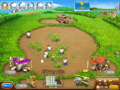 Click to view Farm Frenzy 2 Free game download 1.0.2 screenshot
