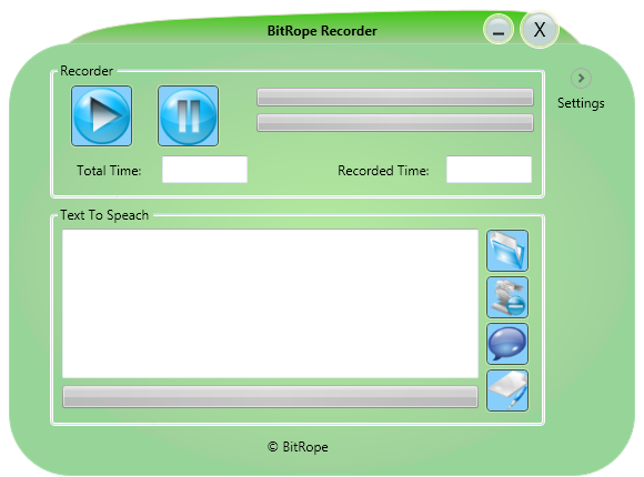 Click to view BitRope Recorder 2.4.0 screenshot