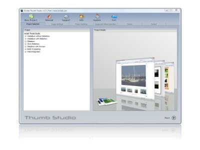 Click to view Arclab Thumb Studio Free 2.13 screenshot