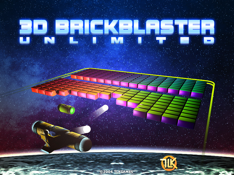 Click to view 3D BrickBlaster Unlimited 2.3 screenshot