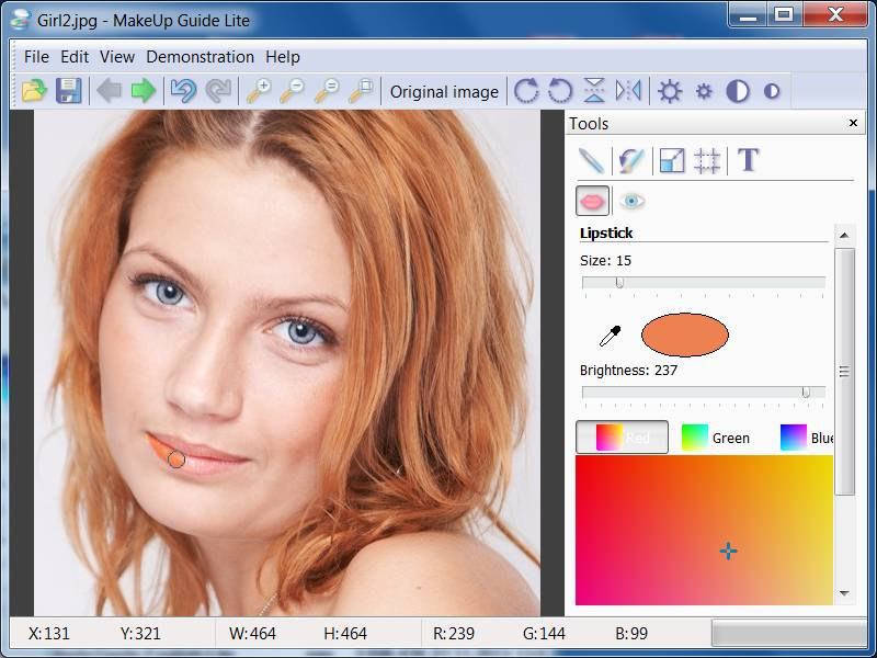 Click to view Makeup Guide Lite 2.0.1 screenshot