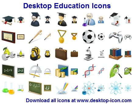 Click to view Desktop Education Icons 2013.2 screenshot