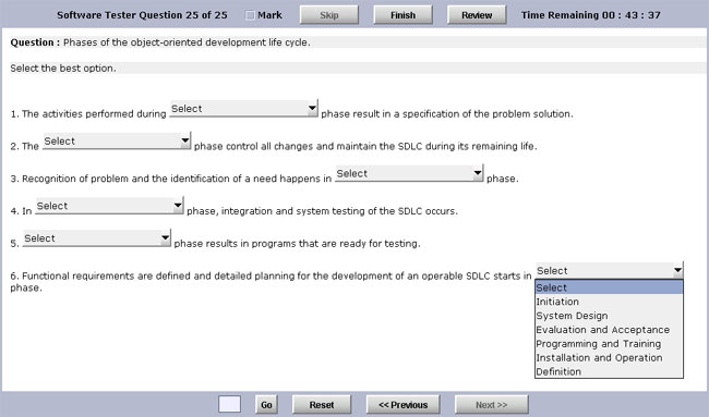 Click to view Test Generator Software Advanced Edition 6.0 screenshot